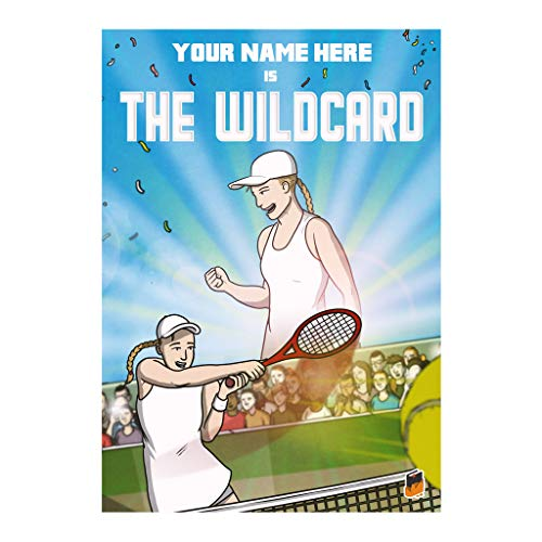 Rock Paper Stories Tennis Sports – Libro di storia per bambini – The Wildcard