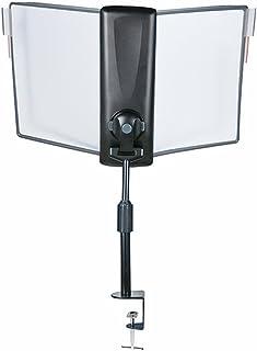 إيداتا FDS033L منظم مرجعي لحامل الأرضية قابل لتعديل القياس، 10 لوحات عرض، علامات تبويب قابلة للتعديل، عمود ارتفاع قابل للت...