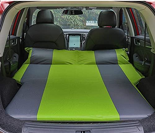 MADAENMF SUV Coche Colchón De Aire Inflable Almohada para Coche Tronco Cojín De Viaje Colchoneta para Dormir para Coche Esponja Altamente Elástica Incorporada Inflación Automática Autopropulsada
