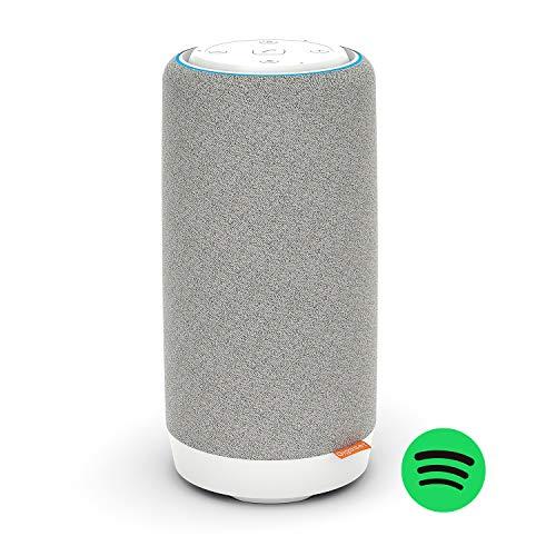 Gigaset Smart Speaker L800HX Blanco. Altavoz Inteligente, con teéfono dect Incorporado Que te Permite Hacer Llamadas por el Fijo.
