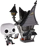 Funko - Pop! Town: Nightmare before Christmas - Jack Figurina de Vinil, Jack's House, Multicolor (42...