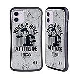 Head Case Designs Ufficiale Felix The Cat Atteggiamento Rock Aspetto Sdrucito Cover Ibrida Compatibile con Apple iPhone 11