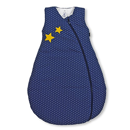Sterntaler Sterntaler Schlafsack für Kleinkinder, Ganzjährig, Wärmeregulierung, Reißverschluss, Größe: 110, Stanley, Blau