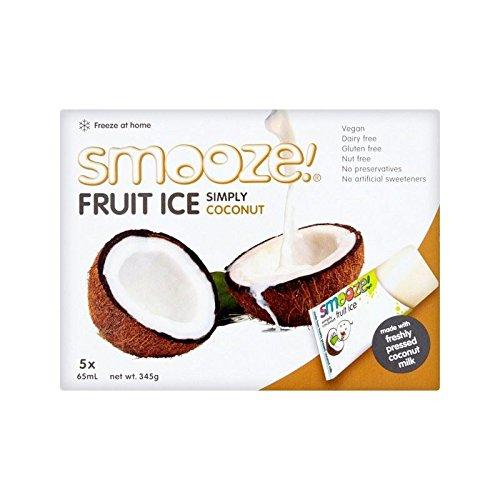 Smooze Einfach Kokosnuss Obst Eis Am Stiel 5 X 65Ml - Packung mit 6