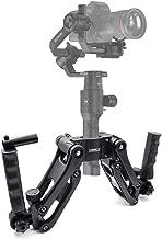 STARTRC Ronin S Z Axis Flexiable Damping Spring Dual Handle Grip Bracket for Ronin SC,Ronin S,MOZA Air 2, ZHIYUN Crane 2/Plus/V2 FEIYU AK2000/4000 and More 3 Axis Gimbal Stabilizer