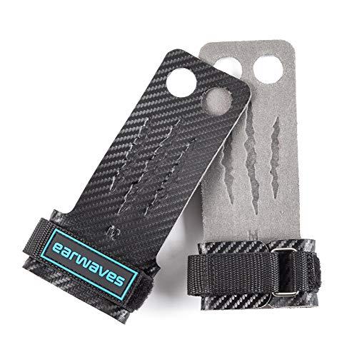 Earwaves  Carbon Spino Grips 2 & 3 Agujeros - Calleras Crossfit para Hombre...