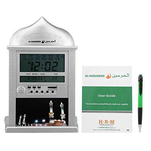Azan in 5 Voices Alarm Clock Islamic Prayer  Five Times AlFajr CT-01