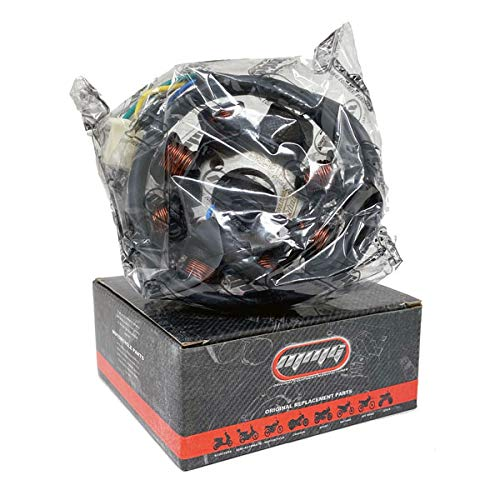 MMG BRAND - Magneto Stator Ignition Generator 8 Poles Coils GY6 Motorcycle Scooter Moped 125cc 150cc (1004-8)