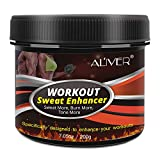 Sweat Workout Enhancer Gel, Belly Fat Burners for Women and Men, Sweat More, Burn More, Cellulite Cream for Abdomen, Thighs and Arms, 7.05 Oz