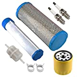 M131802 M144098 Air Filter with 25 050 33-S Oil Filter 24 050 13-S Fuel Filter for Kohler 25 083 04-S 25 083 01-S CH20S CH22S CH18S LH690 LH755 CH730S CH740S CH25S CH680S CH750S CH745S CH685 Engine