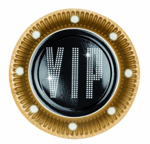 Boland Lot de 6 assiettes VIP Taille : 23 cm