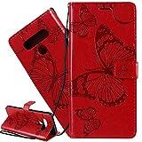 ISADENSER LG K61 Flip Case LG K61 Wallet Case LG K61 Case