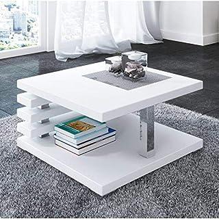 Amazon.fr : table basse de salon laque blanc