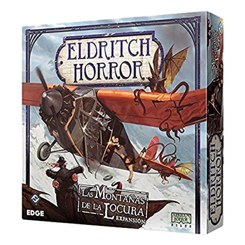 Fantasy Flight Games Eldritch Horror-Las montañas de la Locura, Juego de Mesa,...