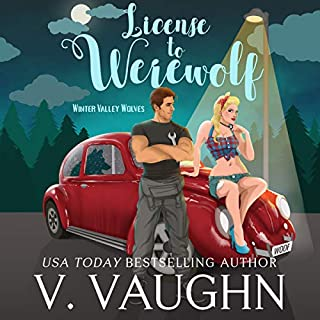License to Werewolf audiobook cover art