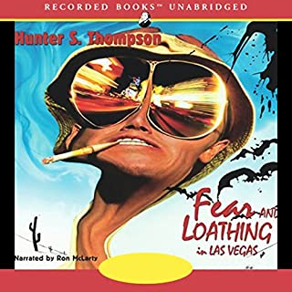 Fear and Loathing in Las Vegas audiobook cover art