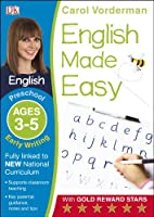 English Made Easy Early Writing Ages 3-5 Preschool (Made Easy Workbooks)