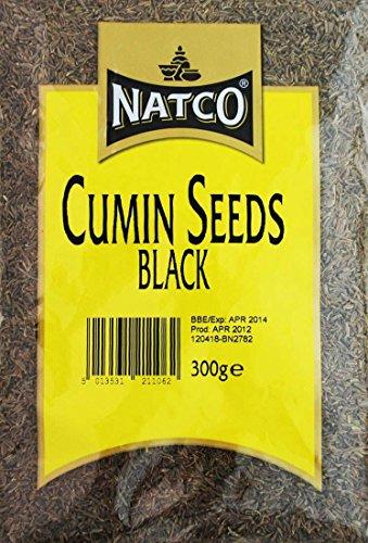 Natco Cumin Seeds Black 300G