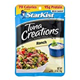 StarKist Tuna Creations Ranch, 2.6 oz pouch (Pack of 12) (Packaging May Vary)