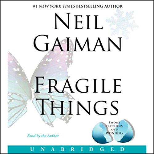 Fragile Things audiobook cover art
