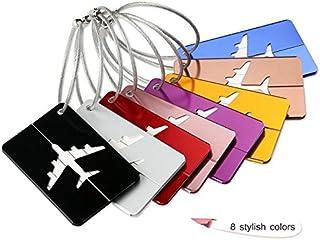 ShowlingMetal Travel Luggage Baggage Label Suitcase ID Tag