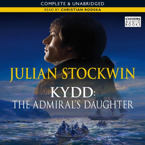 The Admiral's Daughter audiobook cover art