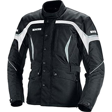 IXS Mens Torres Jacket Black//White, Small