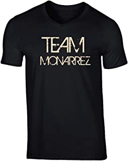 SHAMBLES TEES Team Sports Last First Name Monarrez T Shirt