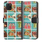 DeinDesign Étui Compatible avec Samsung Galaxy Note 10 Lite Étui Folio Étui magnétique Muppets...