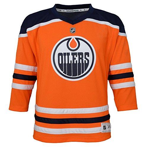 Outerstuff NHL NHL Edmonton Oilers Kids & Youth Boys Replica Jersey-Home, Orange, Kids One Size
