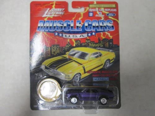 Johnny lumièrening Muscle voitures U.S.A. 1970 Boss 302 Series 9 violet by Johnny lumièrening