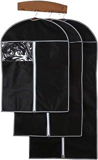 Garment Dustproof Cover Storage Bags Clothes Suit Coat Dress Jacket Protector 2pcs/set