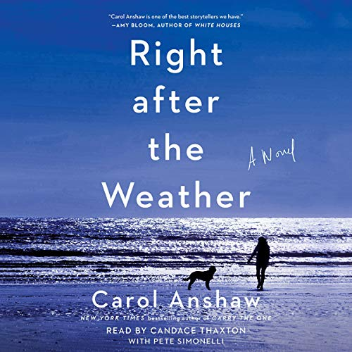 Right after the Weather audiobook cover art