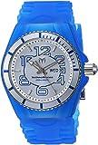 Technomarine Men's Cruise Stainless Steel Quartz Watch with Silicone Strap, Blue, 29 (Model: TM-115140)