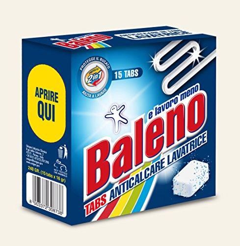 BALENO E LAVORO MENO TABS ANTICALCARE LAVATRICE - Set da 10 confezioni da 15 pastiglie DIRETTAMENTE DAL PRODUTTORE !!cadauna