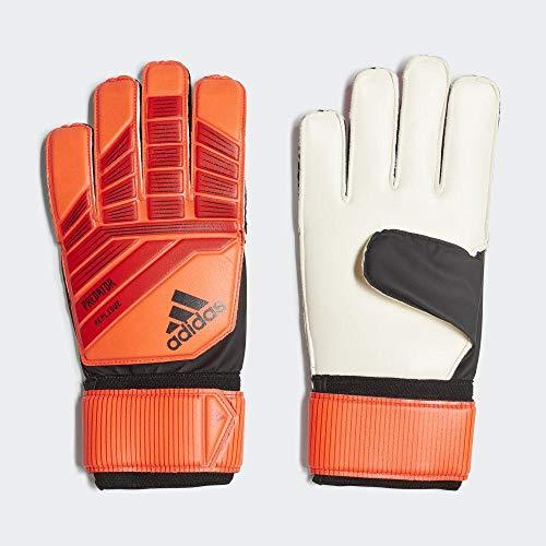 adidas Predator Top Training Guantes fútbol, Unisex Adulto, Rojo (Active Red Solar Red Black), 10