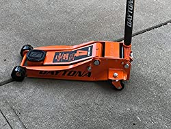 top rated 4 ton heavy duty steel jack with high speed pump – orange 2021
