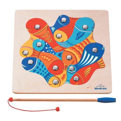 ボーネルンドオリジナル 魚つりパズル 対象年齢 4歳