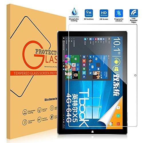 VIFLYKOO Teclast tBook 10.0 Protector de Pantalla, Teclast tBook 10.0 Cristal Templado Vidrio Templado 9H Dureza Shatterproof Tempered Glass Screen Protector para Teclast tBook 10.0 Tablat