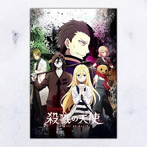 UpdateClassic Satsuriku No Tenshi Angels of Death Anime Poster Wall Decor 11x17