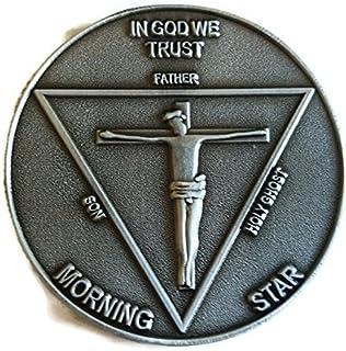 LUCIFER (TV Show) Lucifer Morningstar Pewter-Tone (Silver Tone) Inspired Pentecostal Coin