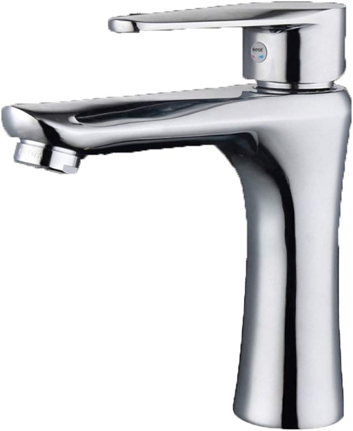 PZXY Faucet Steel Single Hole Single Basin hot and Cold Faucet Bathroom Basin washbasin General Boutique Faucet