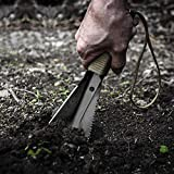 REDCAMP Multitool Hand Hiking Shovel for Camping, Small Lightweight Backpacking Trowel with Carrying Bag, 0.55lbs Black