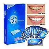 Tiras de blanqueamiento dental, tratamiento de blanqueamiento dental con esmalte dental para el kit de blanqueamiento sin peróxido de sonrisa, eliminación profesional de manchas de dientes 28 Tiras