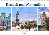 Rostock und Warnemuende - Tor zur Welt (Wandkalender 2022 DIN A2 quer): Rostock und Warnemuende - sichtbare Hansetradition (Monatskalender, 14 Seiten )