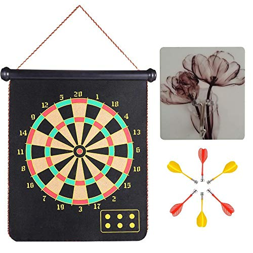 MiDenso Magnetic Dart Board with 6 Dart 1 Suction...