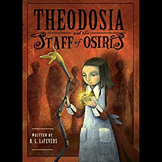 Theodosia and the Staff of Osiris cover art