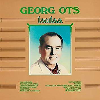 Georg Ots laulaa