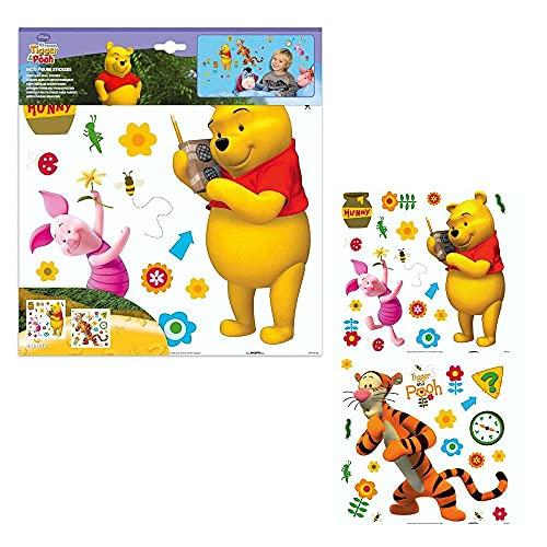 Winnie l'ourson - Stickers Muraux Décoration Murale Ensemble Pooh & Friends