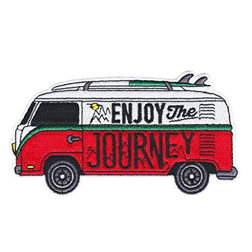 Asilda Store Embroidered Sew or Iron-on Patch (Enjoy The Journey)